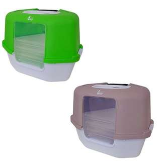 CatLove Space Saver Hooded Litterbox
