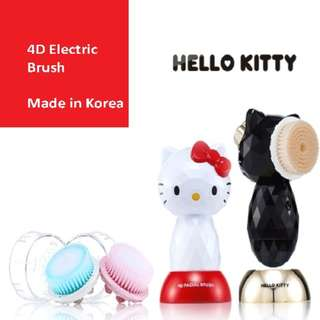 4D Hello Kitty Facial Cleanser Brush (Made in Korea)