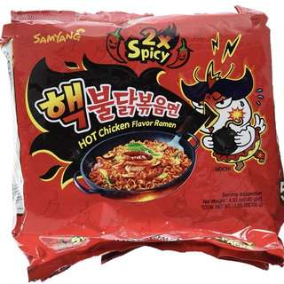 Samyang Spicy Noodle (Chicken & Cheese