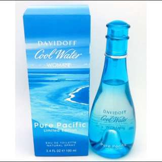 Davidoff Cool Water Women Pure Pacific EDT