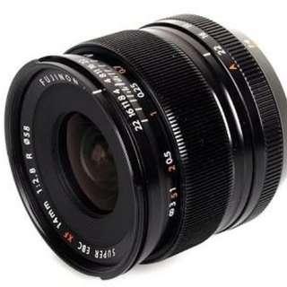 Fuji 14mm 2.8