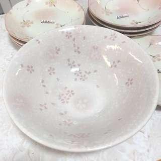 日本制櫻花大碗 21.5 cm 高 7.5cm