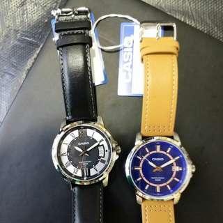 """卡西歐品牌皮帶手錶""""Casio""""日本機芯一年保養"""