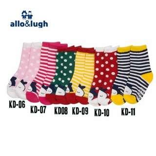 [BUY 3 FREE 1] Girls Anti-slip Socks KD06-KD11