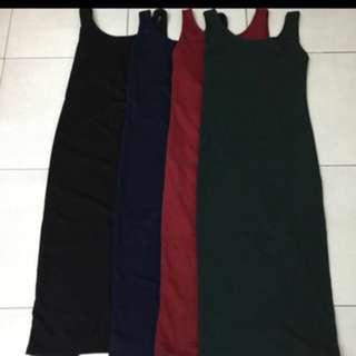 Body Low Back Midi Dress