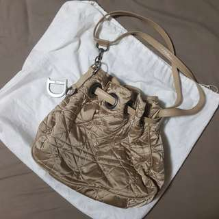 Preloved DIOR nylon bucket bag
