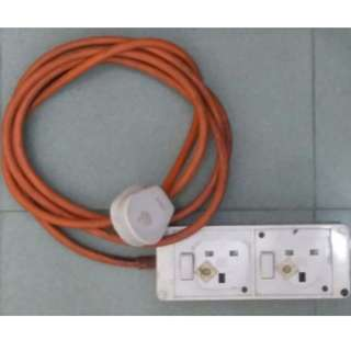 Power Extension Socket (Thick Cable)