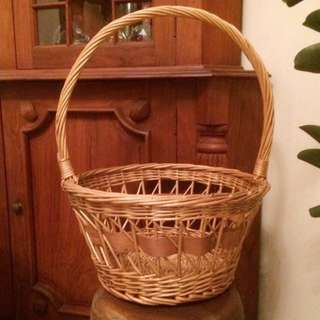 Unique Round Rattan basket