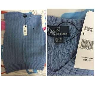 全新 Ralph Lauren Polo 冷衫