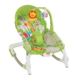 Fisher Price Rocker - Fisher-Price Rainforest Friends Newborn to Toddler RockerSet (used)