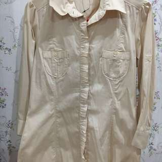Executive cream shirt
