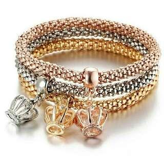 Pandora's box inspired charm bracelet