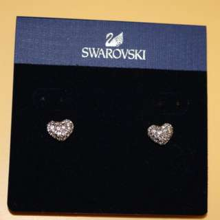 Swarovski earings original 100% auth