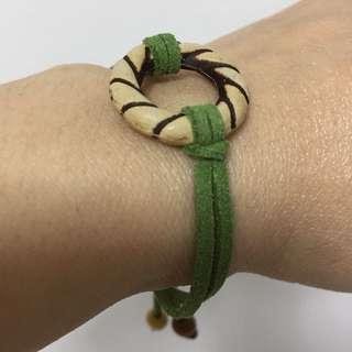 Forest Green Adjustable Bracelet
