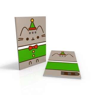 Elf Pusheen - Christmas Special notebook