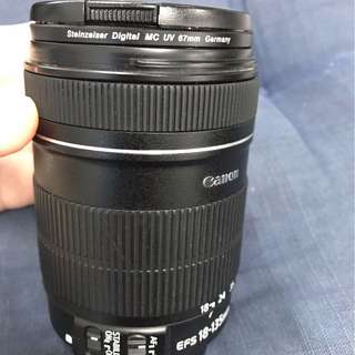 Canon Lens 18-135 IS