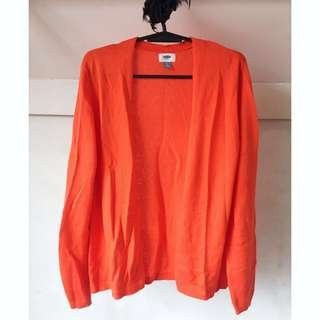 ❤️ SALE ❤️ Old Navy Tangerine Cardigan