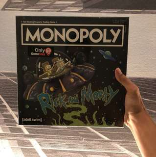 Rick and Morty limited edition Monopoly set