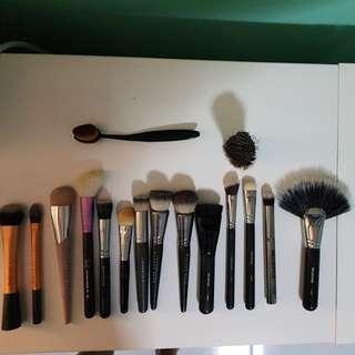 Massive Makeup Brushes Sale - Sigma, Morphe, Makeup Geek, Shu Umera, Fenty Beauty