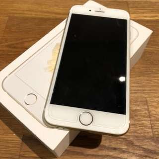 Gold iPhone 6s 64gb - has AppleCare plus - unlocked