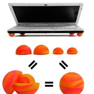 Laptop cooling ball