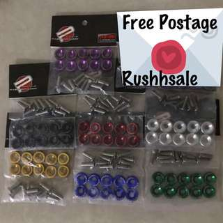 JDM 6mm size screws