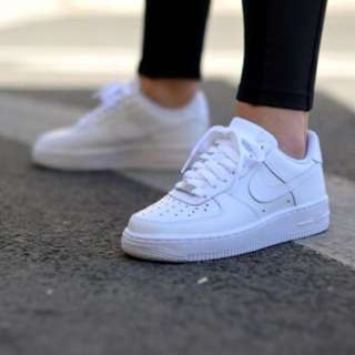nike air force 1 (gs) in white
