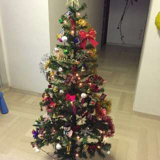 Sale! 1.5m Christmas Tree with 103 decors