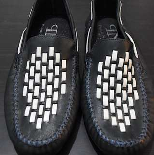 Leather Slip-Ons