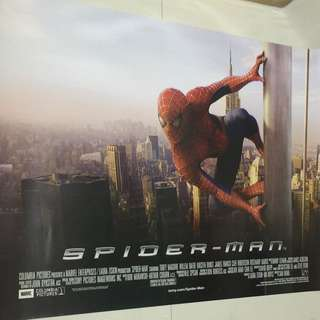 Large Double Sided Movie Poster Spider-man Spiderman Marvel