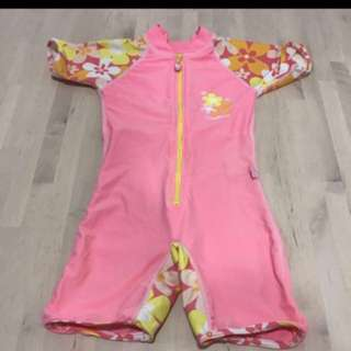Girls(5-6 years) LR Surf UV Protection Swimming Suits