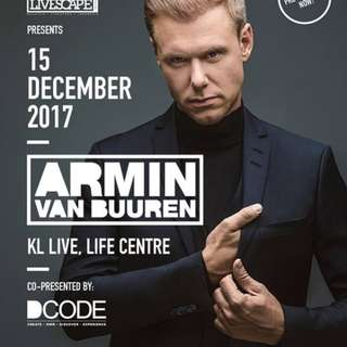 Armin van Buuren Live in KL 15 Dec