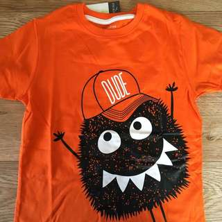December- 1.5-8yrs primark boy 'monster dude' tshirt