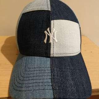 New Era牛仔布老帽