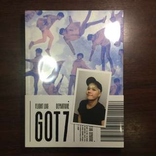 GOT7 - Flight Log Departure Serenity Ver. (with Jackson Photocard)