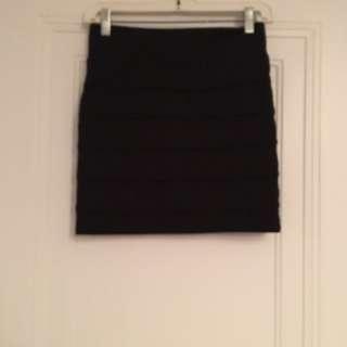 garage bodycon skirt
