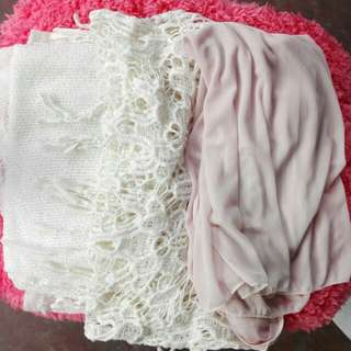 3 pcs cover-up (preloved)