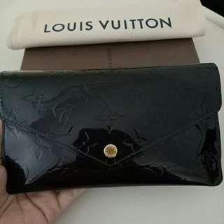 LV wallet Venice leather