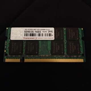 Transcend 2G DDR2 667