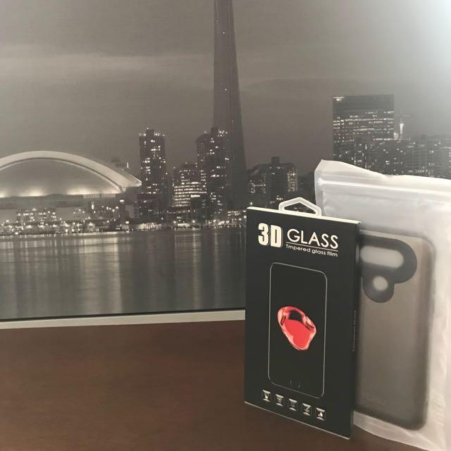 3D glass & case bundle for LG G5