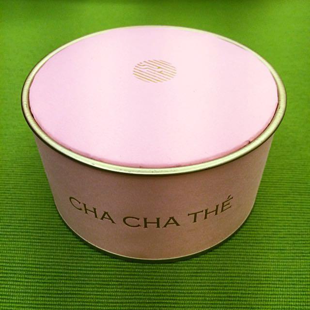 采采粉紅色鐵紙盒