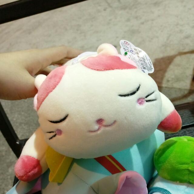 超可愛軟軟好好捏貓咪~~~玩偶娃娃