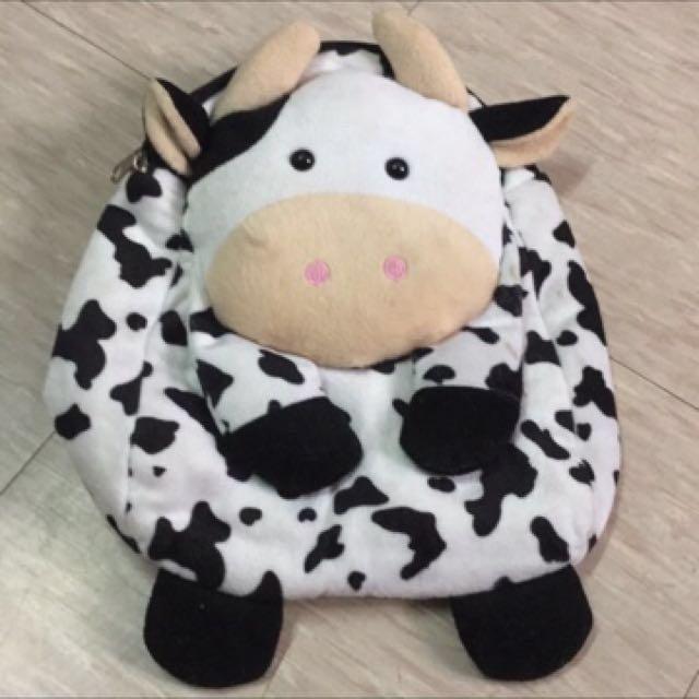 女童/男童用 乳牛後背包