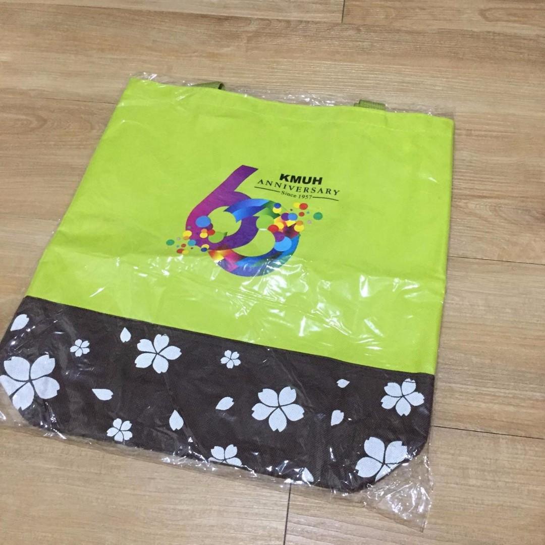 高醫六十周年紀念購物袋 高雄五寶紀念購物袋 全新未拆 可換物
