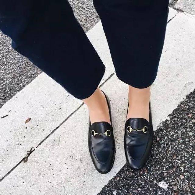 黑皮鞋 樂福鞋 平底鞋
