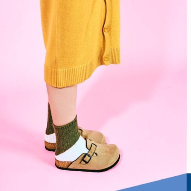大頭鞋 娃娃鞋 類似勃肯風 mijily