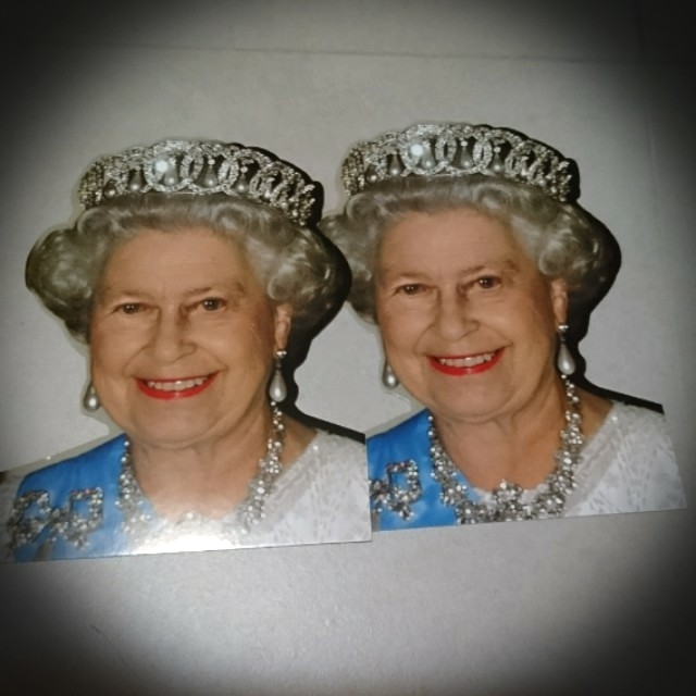 贈品 英國 明信片 英女皇Postcard