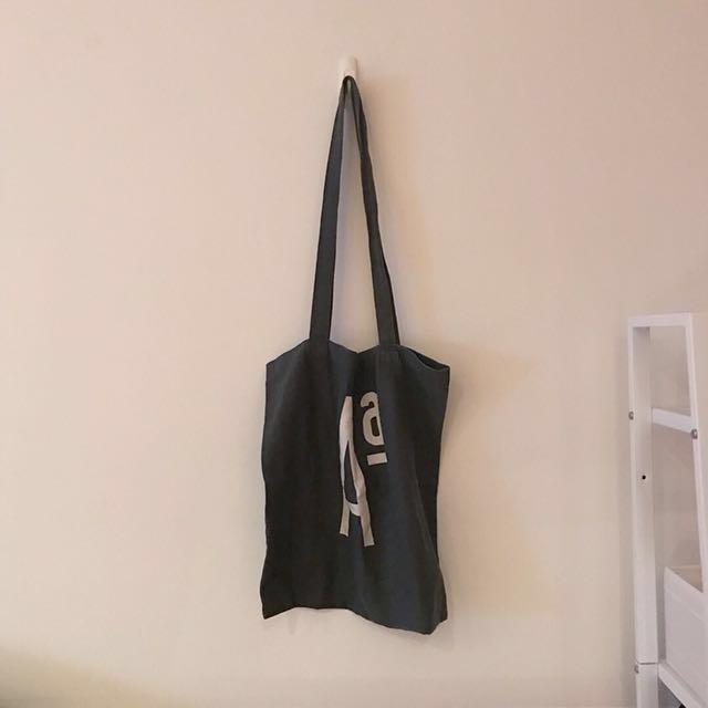 韓國品牌 字母A帆布包