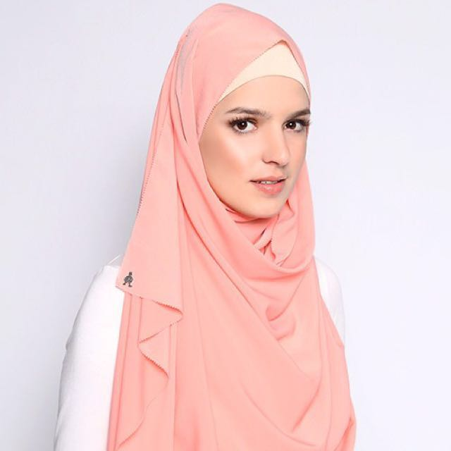 (✔️📦) Duckscarves Blush (Mixed crepe)