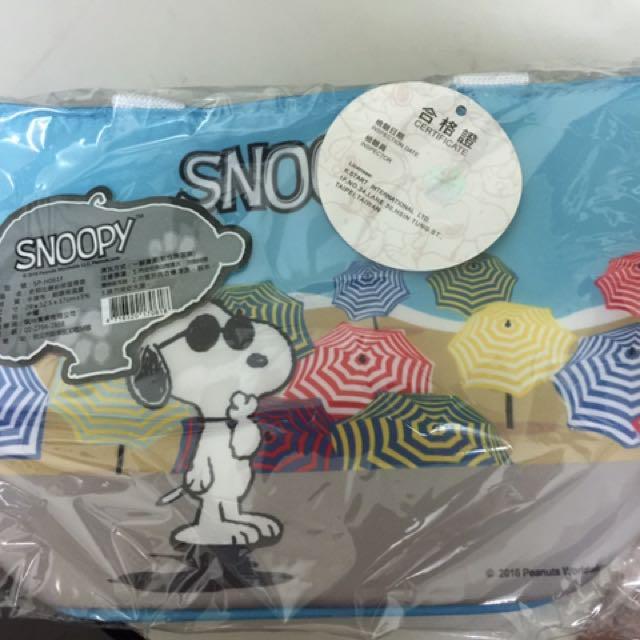 全新_snoopy保冷提袋